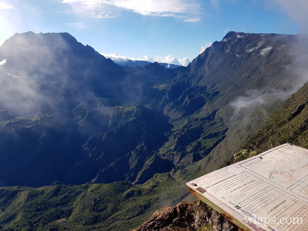 Le point de vue du Maïdo à La Réunion