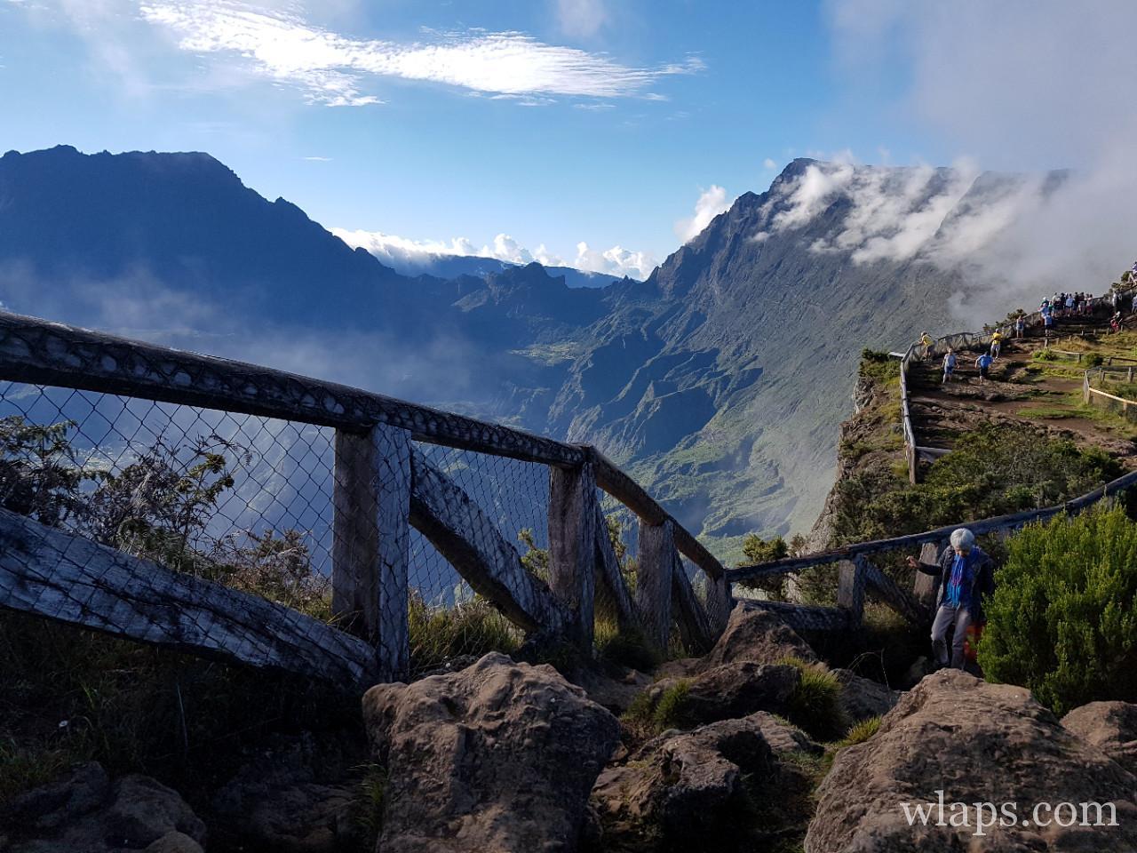 Vue depuis le Maido à la Réunion