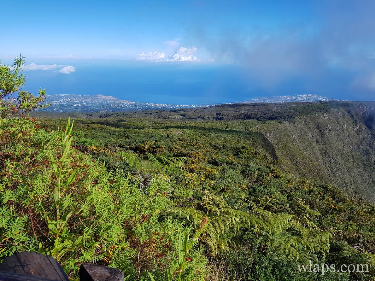 Randonnée à l'ile de la Réunion