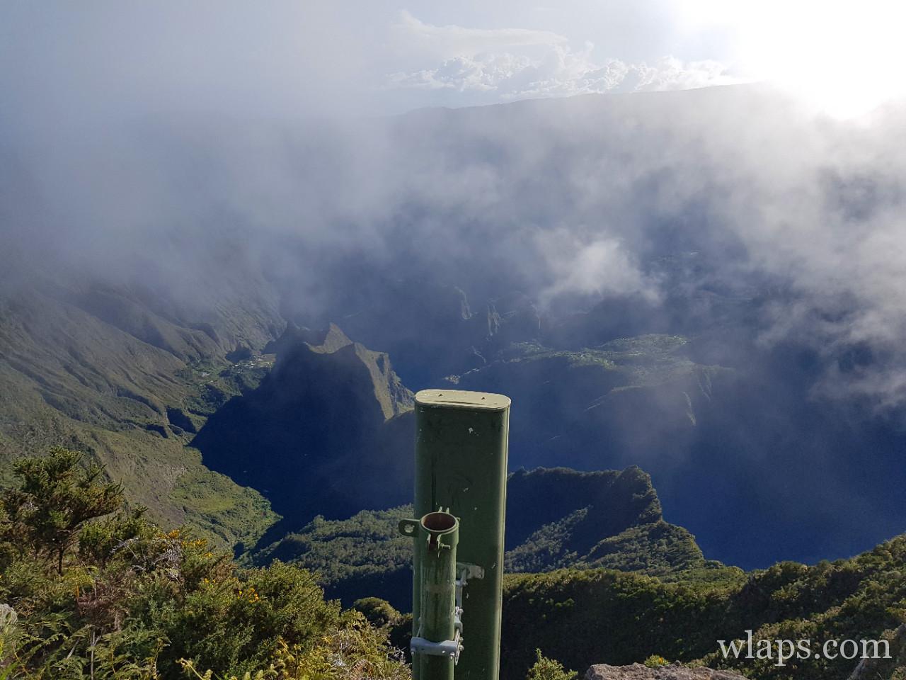 Mafate depuis le Maido à la Réunion