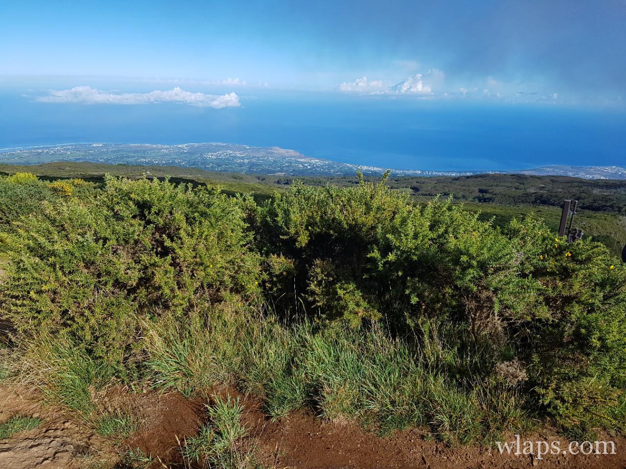 Vue depuis la randonnée du Maïdo à La Réunion