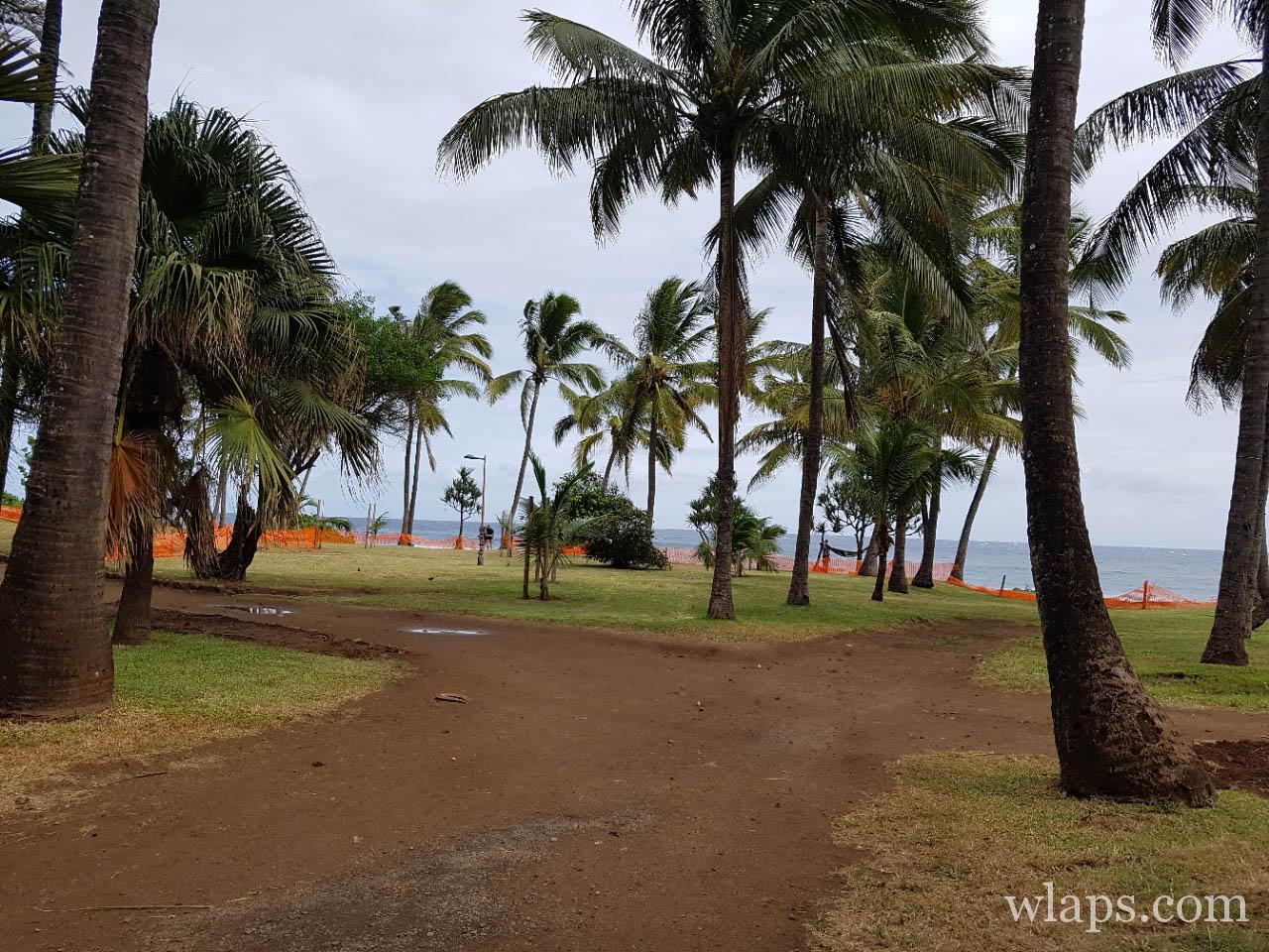 La plage de Grande Anse à l'île de La Réunion