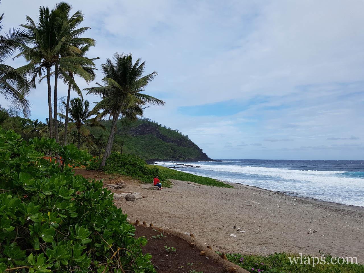 Plage de Grande Anse à La Réunion
