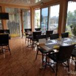 Salle du restaurant créole La Kaz ile de La Réunion