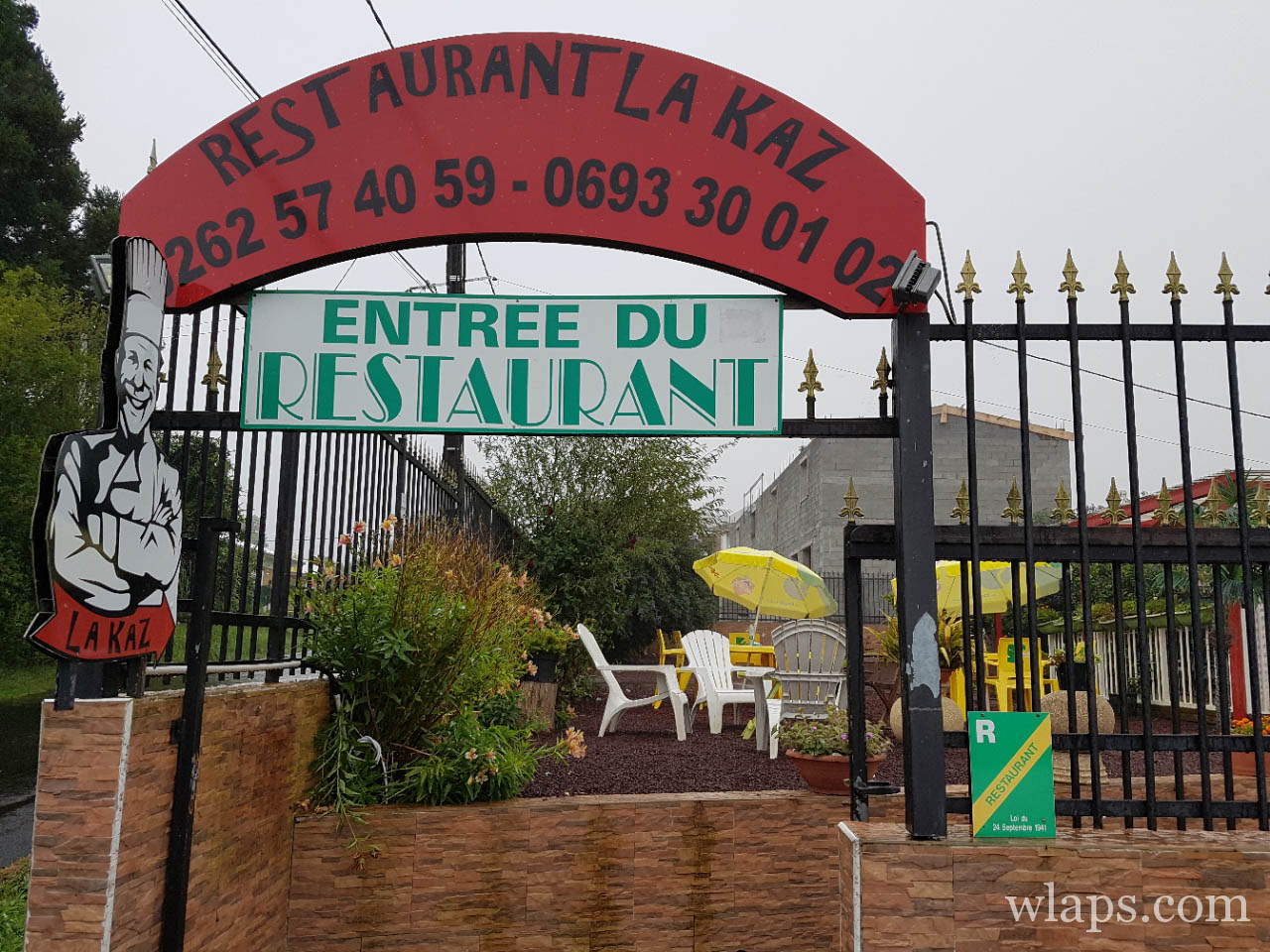 Restaurant créole La Kaz ile de La Réunion