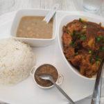 Plat au restaurant créole Chez Jules à La Réunion