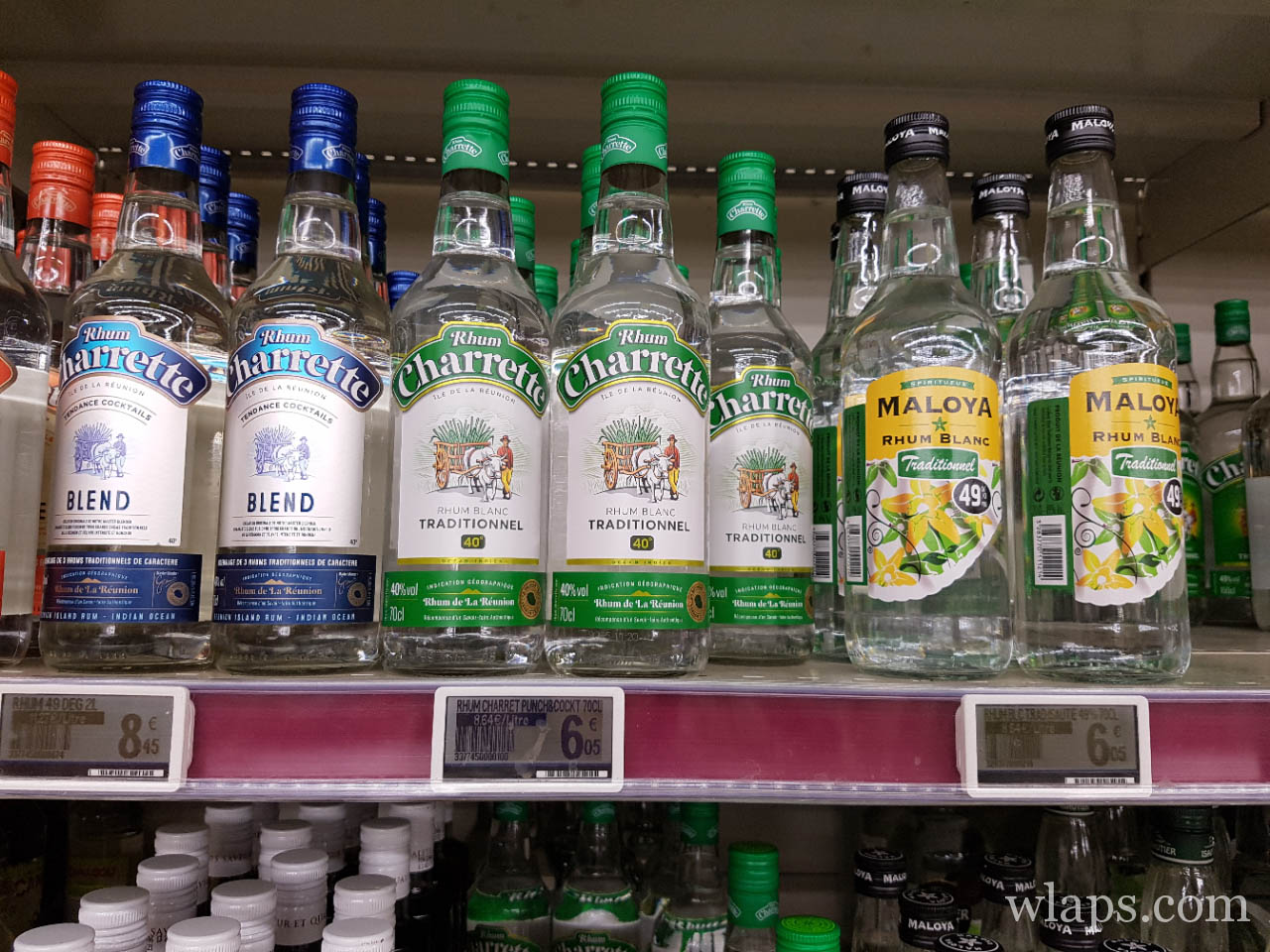 Une boisson de La Réunion le rhum