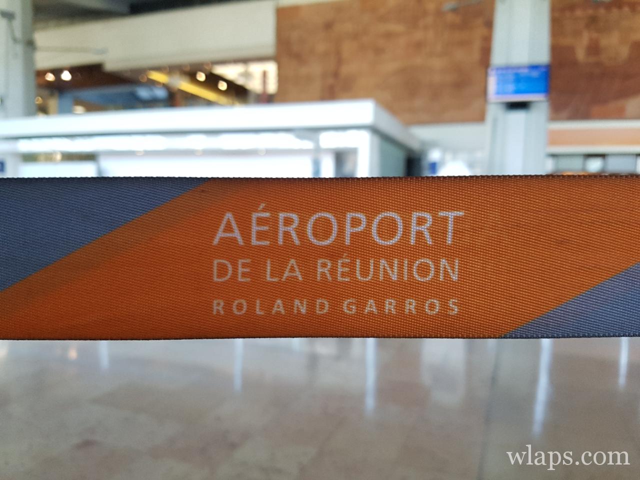 à l'aéroport de La Réunion