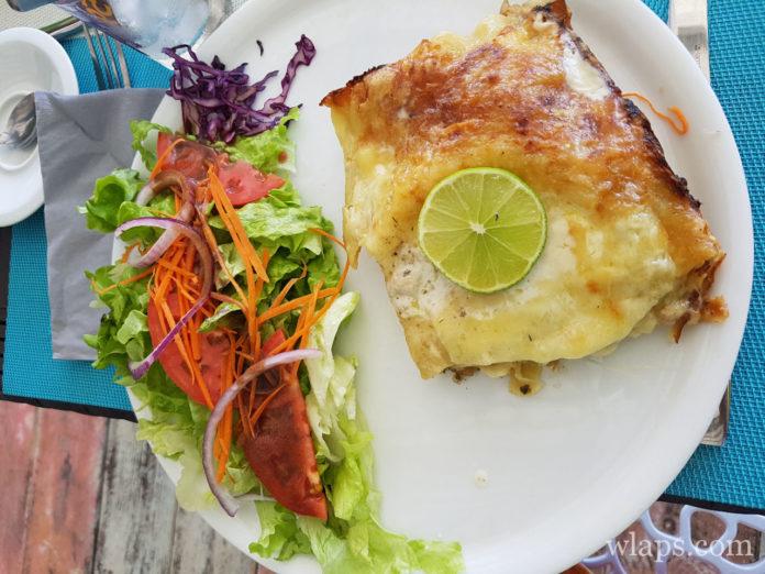 Lasagnes de poisson