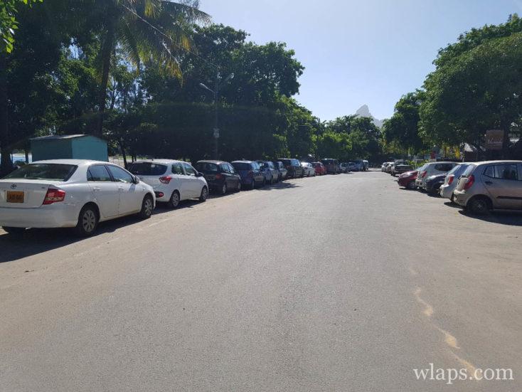 Taxis et voitures de location pour aller à la plage à l'ile Maurice