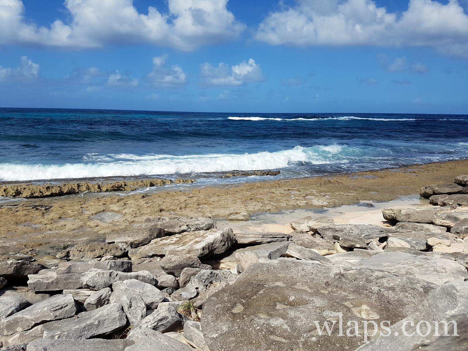 Plage nudiste de Anse à la Plume en Guadeloupe
