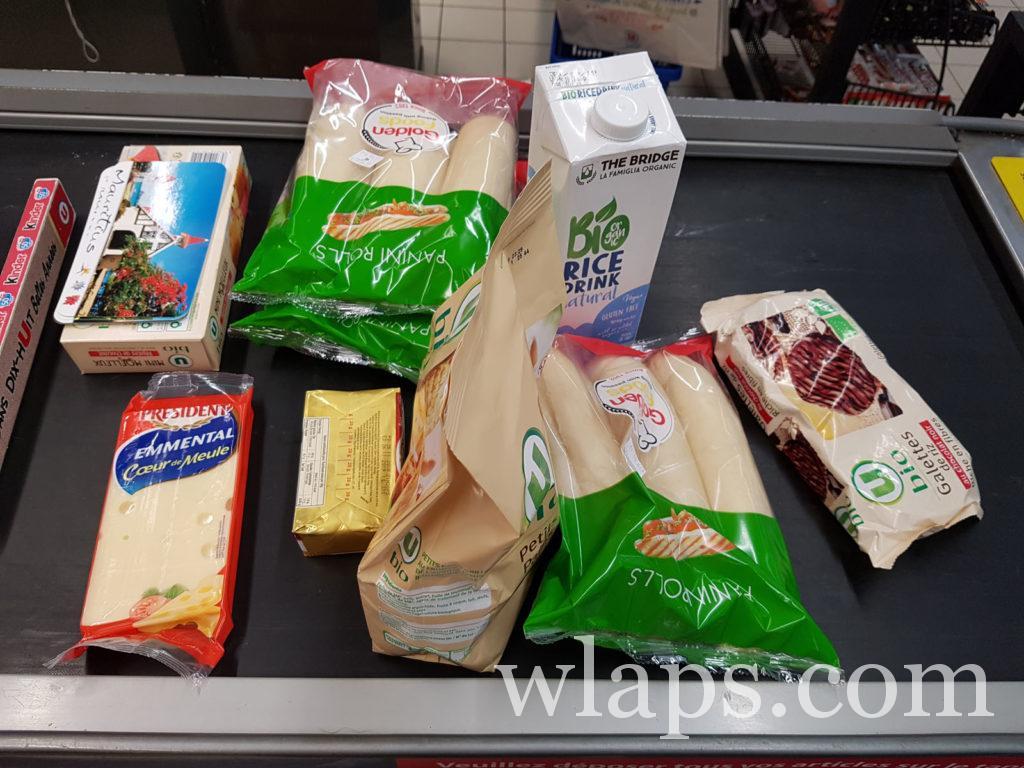 courses au supermarché à l'ile maurice