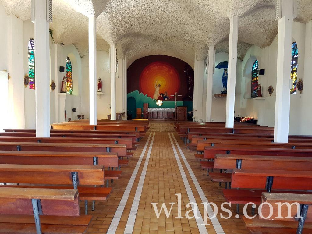église à la réunion