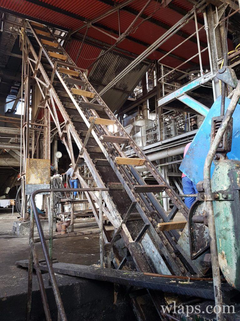 la distillerie Montebello en guadeloupe