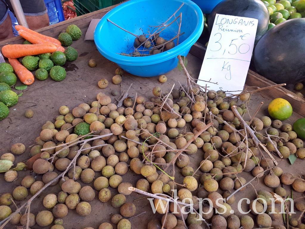 Longanis fruit de La Réunion