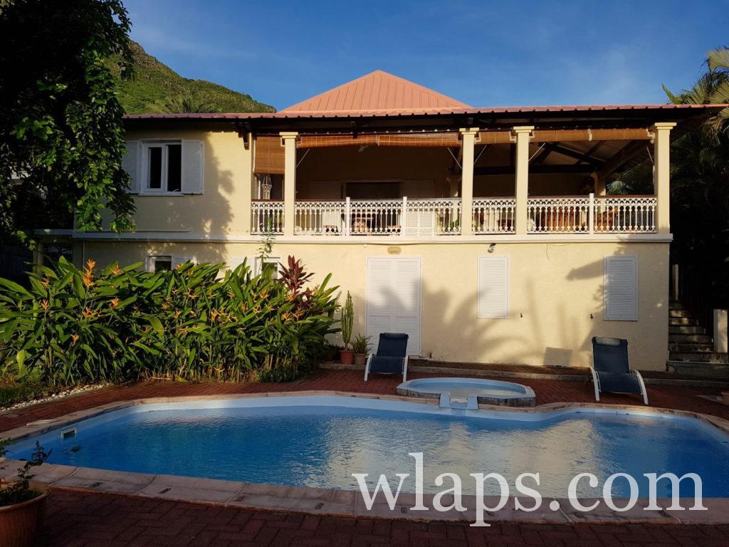 villa à louer à riviere noire sur airbnb à l'ile Maurice