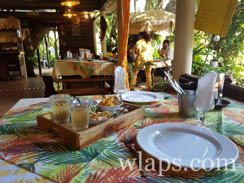 restaurant l'escale créole à l'ile maurice
