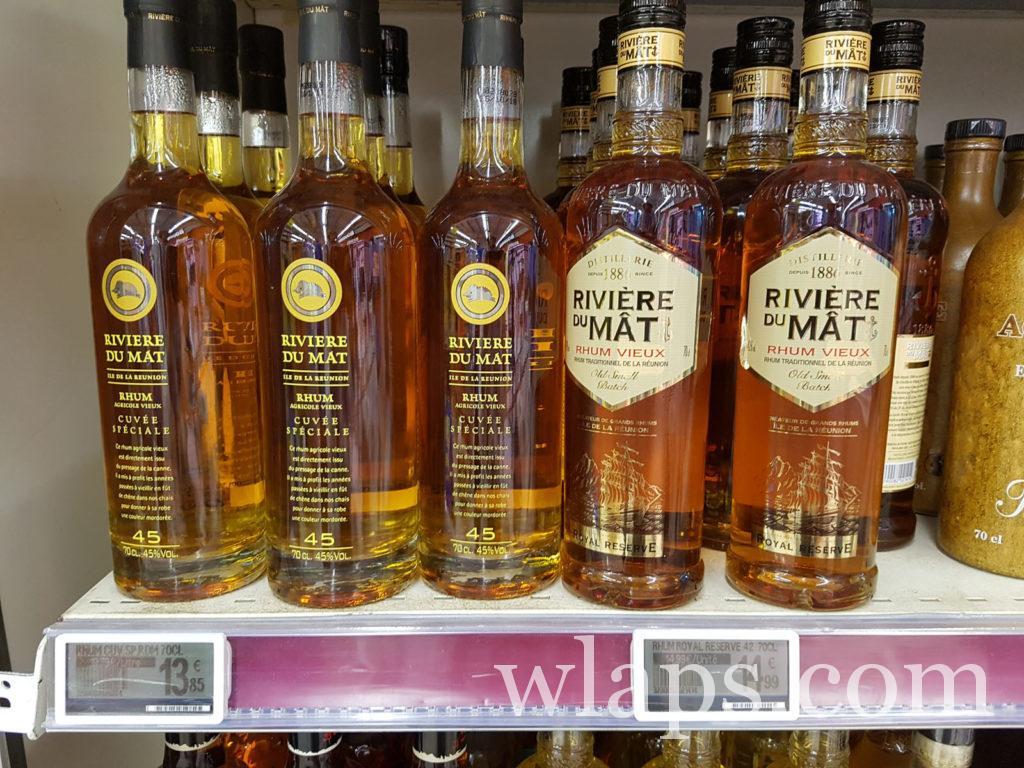 Rhum vieux et Cuvée spéciale de la Distillerie de Rivière du Mat, visite à la réunion