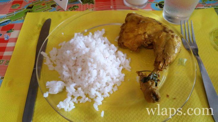 plats au restaurant en Guadeloupe