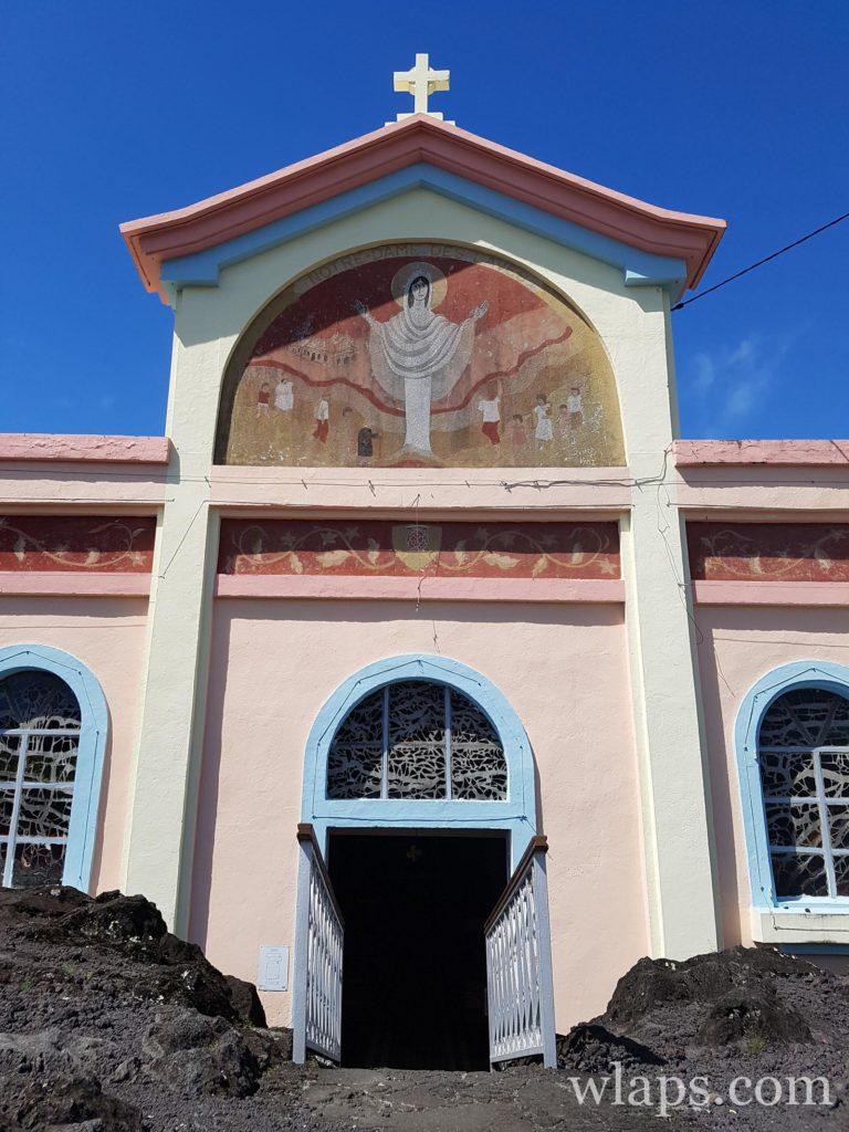 Découverte de la belle Église Notre Dame des Laves à la réunion