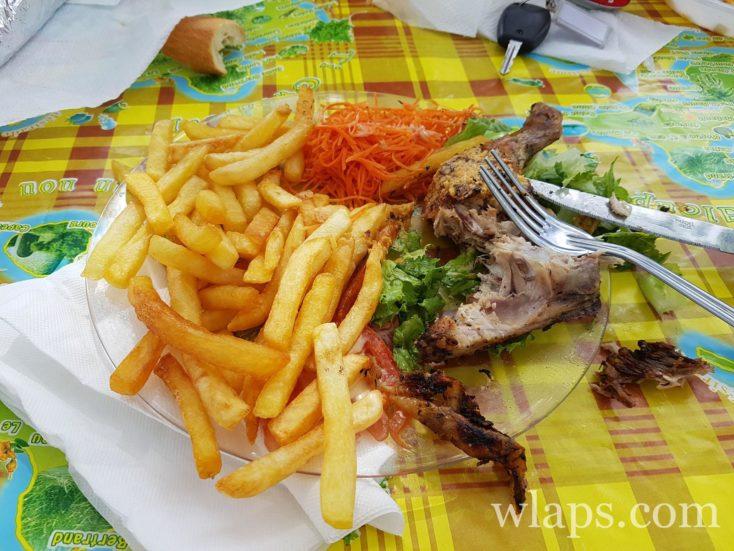 plat dans un lolo en Guadeloupe