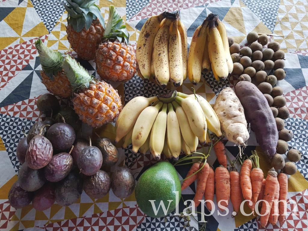 Fruits de La Réunion et légumes locaux