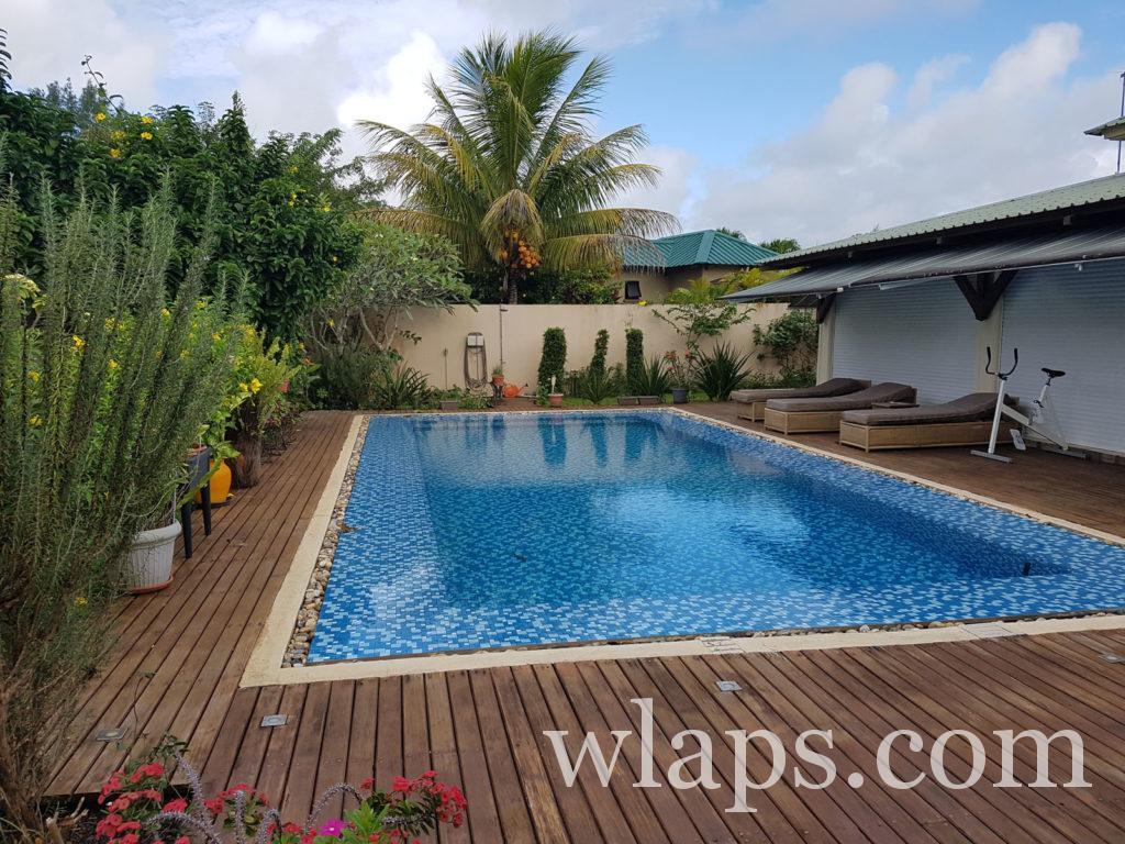 piscine dans le nord à l'île Maurice