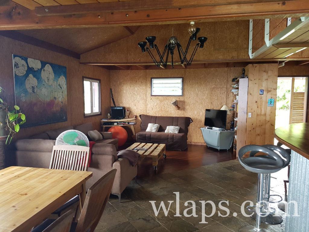 L'intérieur de la maison est très bien équipé et confortable à la réunion