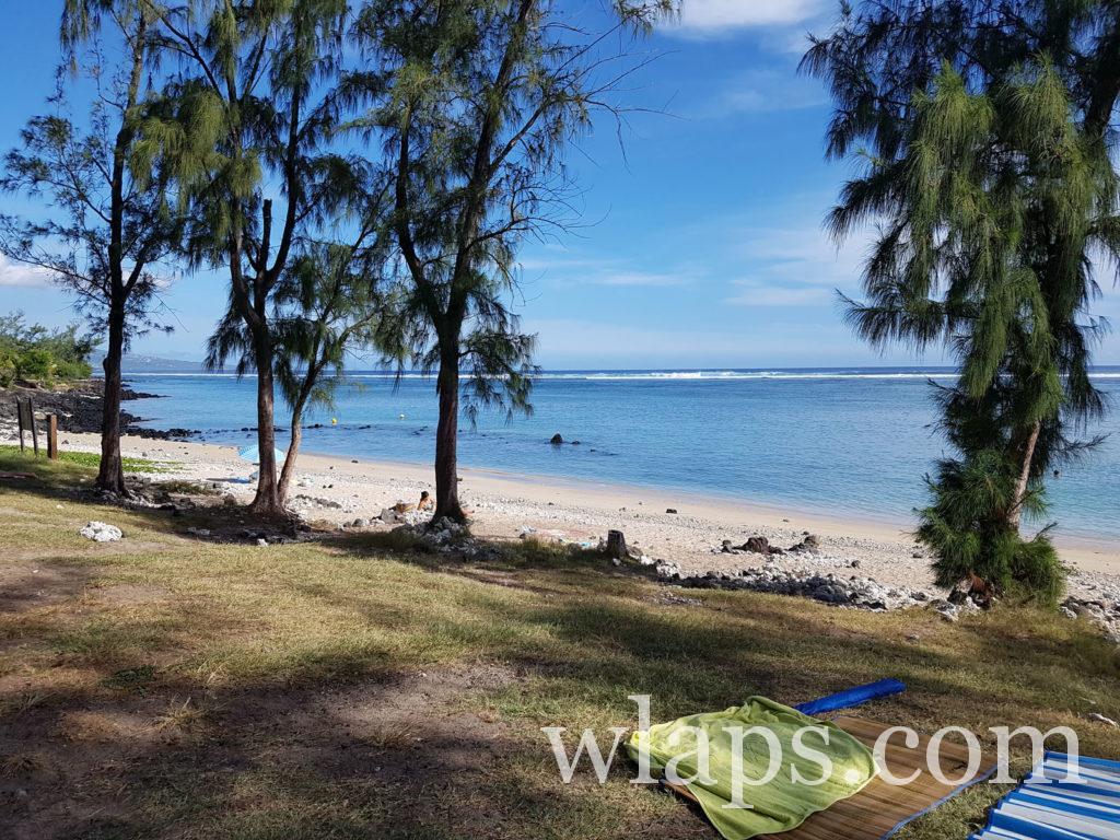 Activité baignade et snorkeling à la Plage de Trou d'Eau à La Réunion