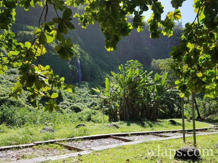 Anse des Cascades à l'île de La Réunion