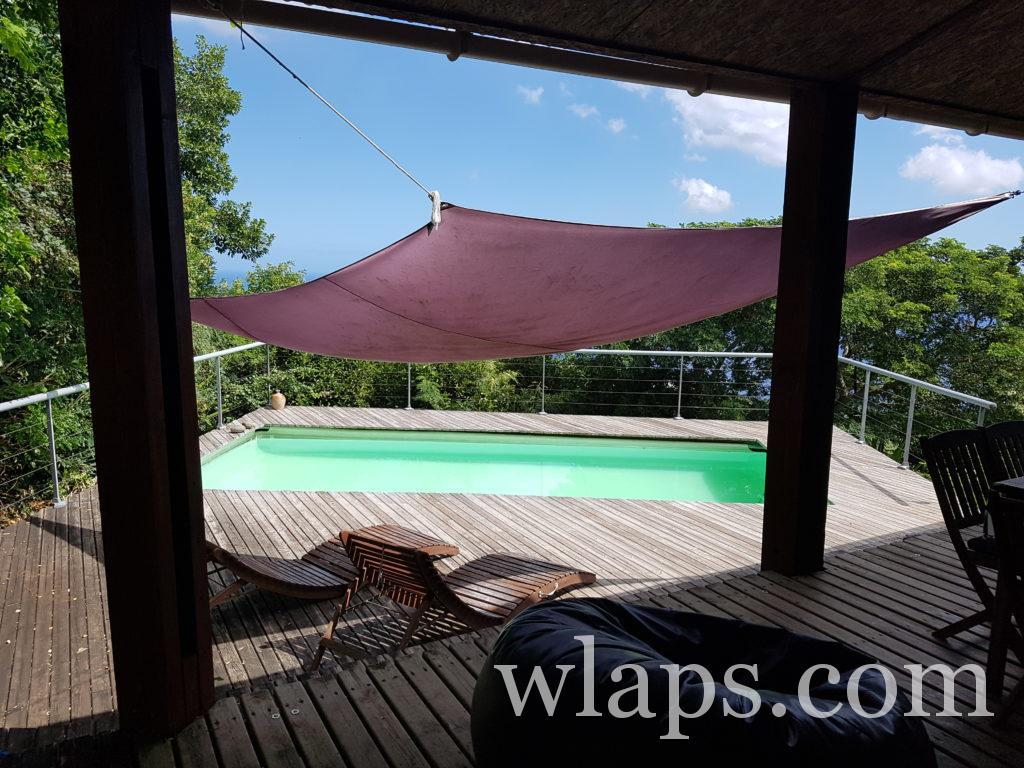 la piscine privée idéale de notre maison de location à la réunion