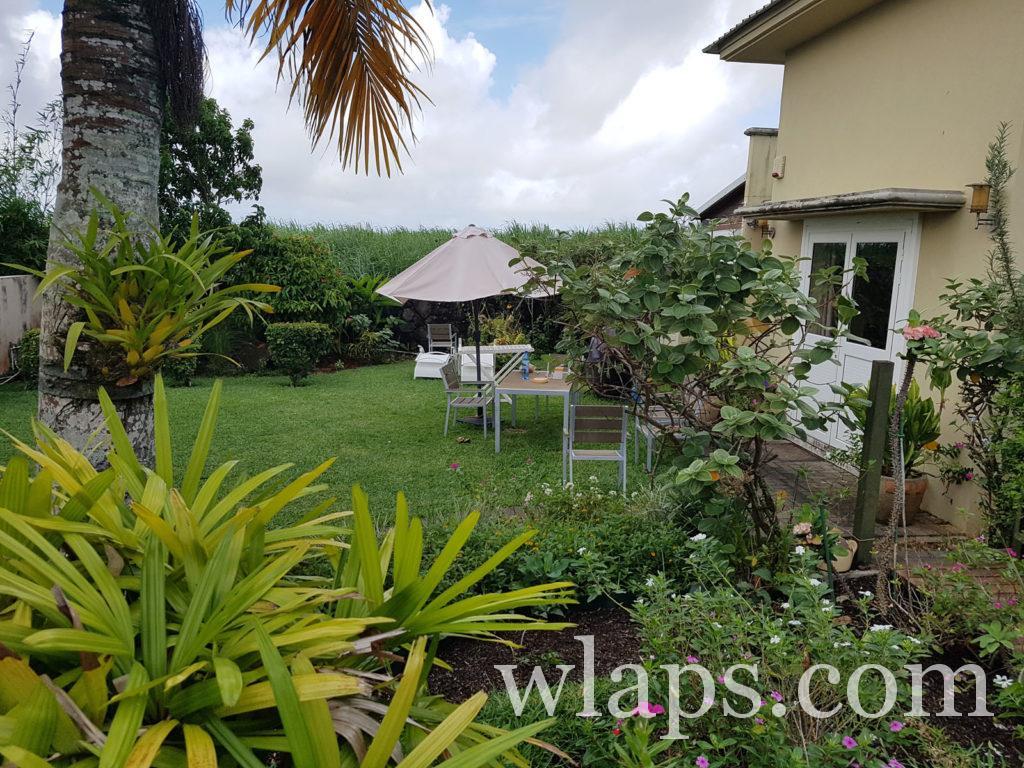 notre maison de location à l'île Maurice