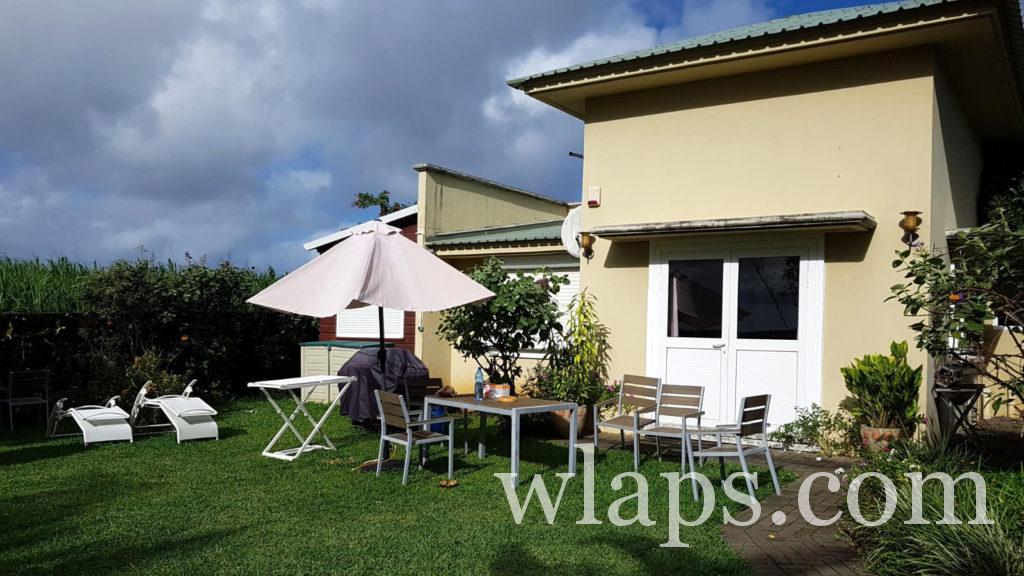 Maison de location avec jardin à l'île Maurice