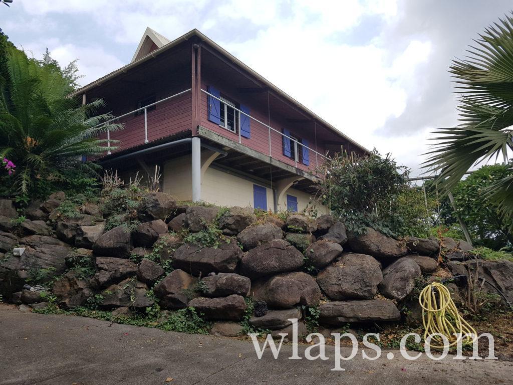 La maison où nous avons passé de si bons moments à l'ile de La Réunion