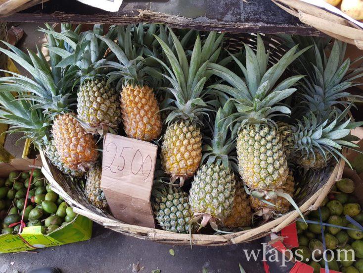 ananas Victoria à l'ile Maurice : mon fruit exotique favori à l'ile Maurice !