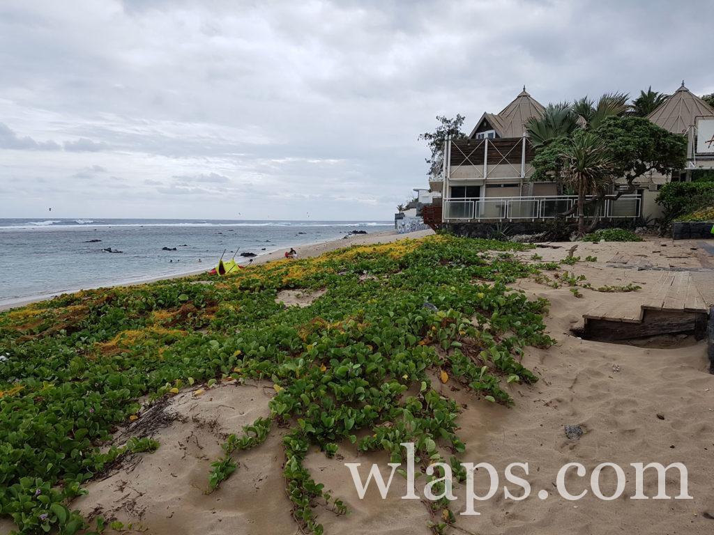 activité détente à la plage de Saint Pierre de La Réunion