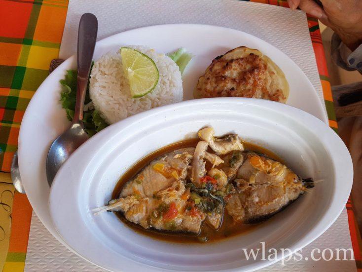poisson au restaurant Le reflet de l'île à Capesterre de Marie-Galante