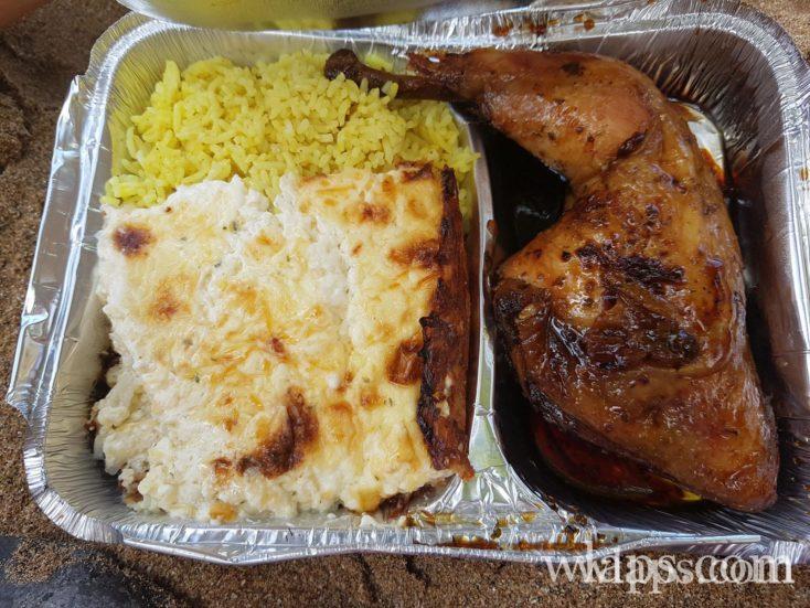 plat chez Passion Créole, restaurant créole à Caféière, Deshaies