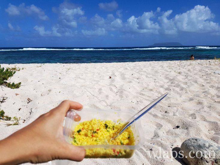 plats du traiteur Poivre et Vanille en Guadeloupe