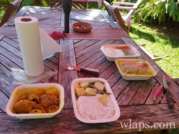 plats au traiteur en Guadeloupe