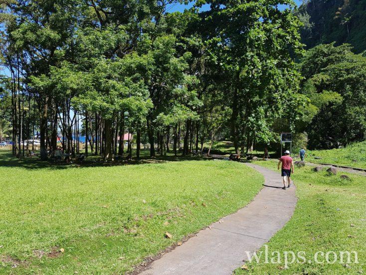 Parc de l'Anse des Cascades à l'île de La Réunion