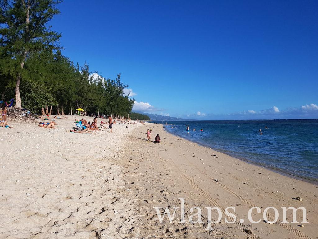 Baignade et snorkeling à la plage de l'Ermitage à La Réunion