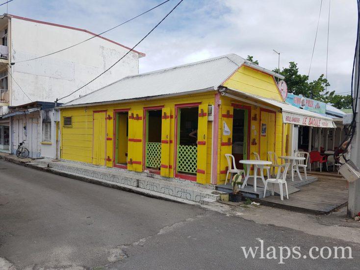 La boulangerie Le Baoule, à Grand-Bourg de Marie Galante