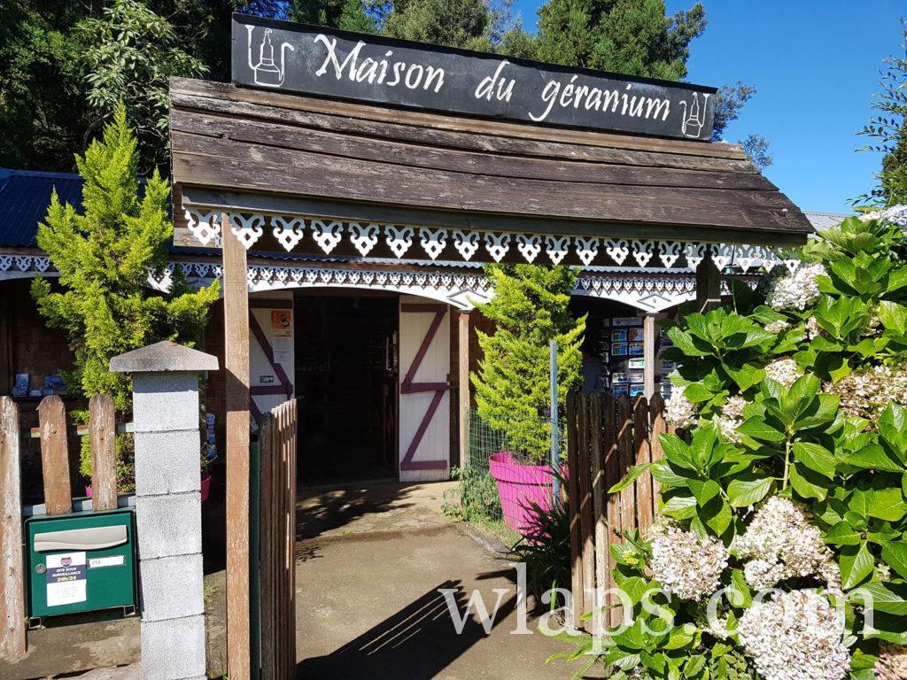 Visite à la Maison du Géranium de la réunion