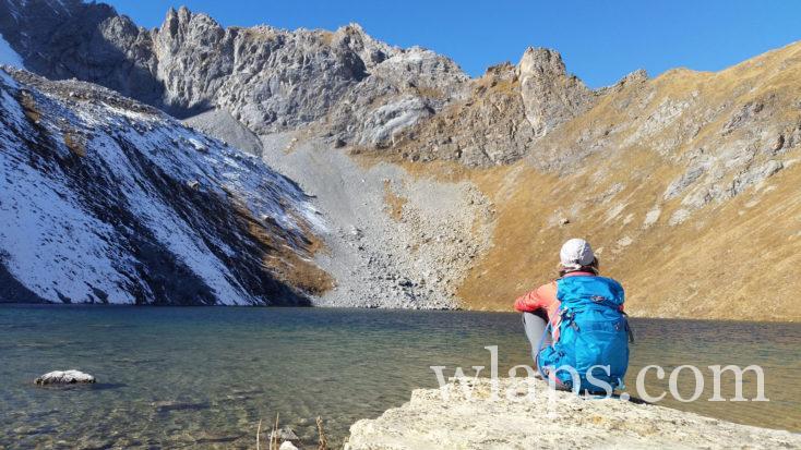 randonnée aux lacs Merlet