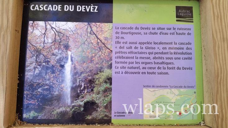 la cascade du Devez