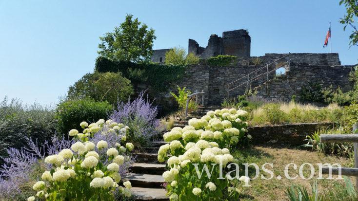 La randonnée au Château Valon