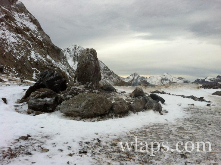 paysage glacé