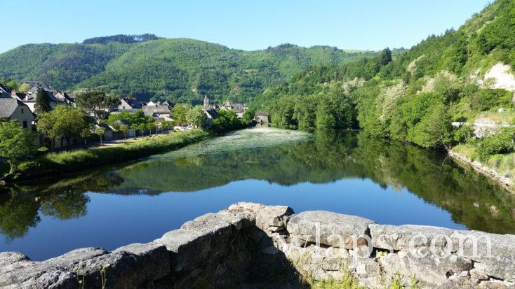 l'eau à Entraygues-sur-Truyère