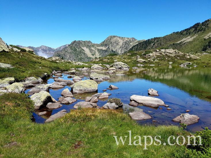 des lacs de montagne à Luz Saint Sauveur